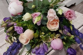 Pinks and Purples Florists Choice